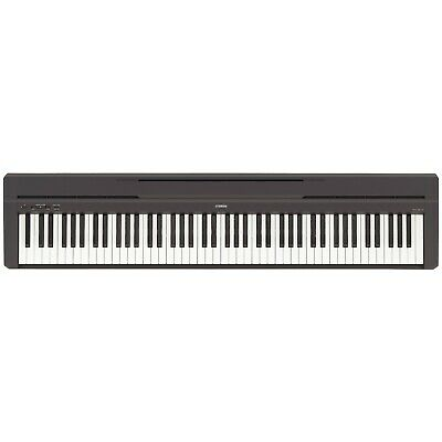 Yamaha P45 88-Key Weighted Action Digital Piano with Sustain Pedal, Power Supply
