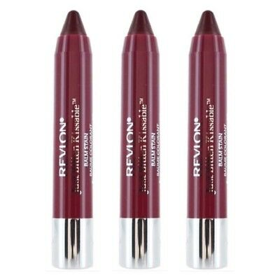 Revlon Just Bitten Kissable Balm Stain - Crush 005 - LOT OF 3