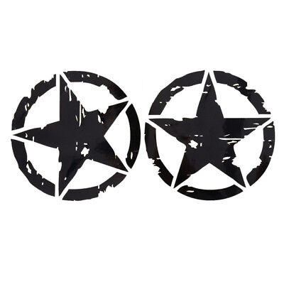 15cm*15cm ARMY Star Graphic Decals Motorcycle Car Stickers Vinyl Car-styling