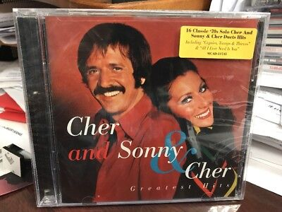 Sonny & Cher Greatest Hits CD 1998 MCA 11745 SEALED