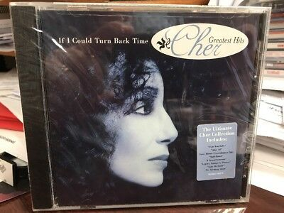 Cher Greatest Hits IF I COULD TURN BACK TIME CD 1999 GEFFEN 90379 SEALED