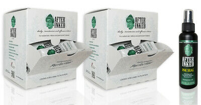 After Inked Lotion Tattoo AfterCare Healing Cream VEGAN PMU Permanent Make Up