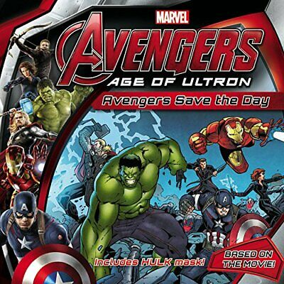 Marvel's Avengers: Age of Ultron: Avengers Save the Day by Marvel Book The Cheap