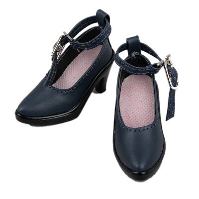 [PF] 24# Dark Blue Shoes For 1/4 MSD DOD BJD Dollfie Synthetic Shoes