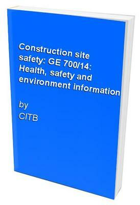 Citb ge700 construction site safety book set 2300 picclick uk construction site safety ge 70014 health safety and environment i fandeluxe Gallery