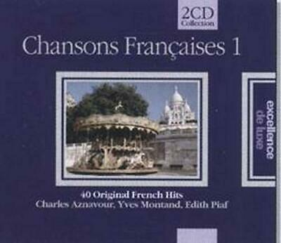Various - 40 Original French Hits - Various CD 3TVG The Cheap Fast Free Post The