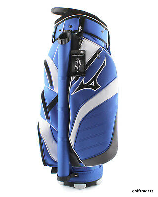 Mizuno Osaka Cart Bag - Blue / White - New - #e6002