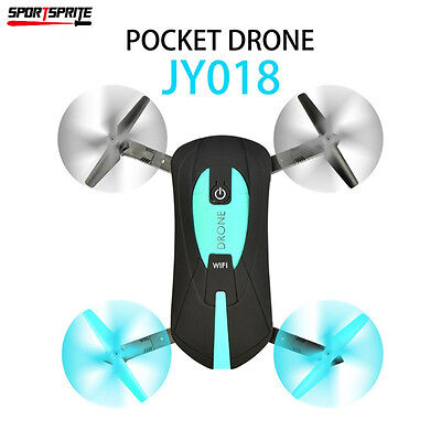 Professional Foldable Drone Aircraft 720P HD Camera WiFi FPV Quadcopter BLUE
