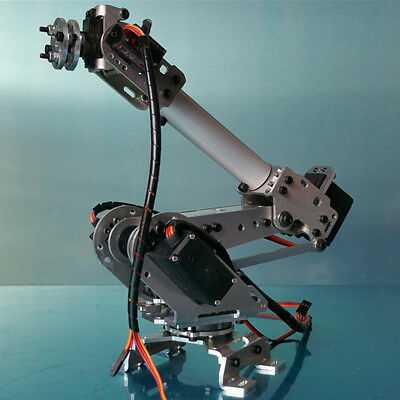 6DOF Mechanical Robot Arm Claw with Servos for Robotics Arduino DIY Kit Six axis