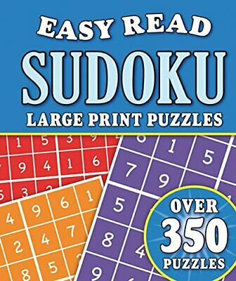 Puzzles - Easy Read Sudoku: Over 350 Large Pr... by Igloo Books Ltd Spiral bound