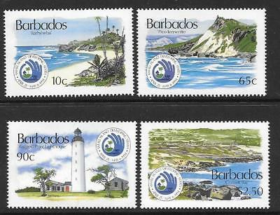 Barbados Sg1022/5 1994 United Nations   Mnh