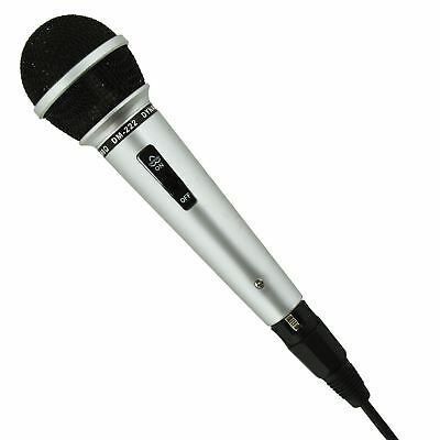 New DJ Dynamic Microphone Entertainer Party Singing Karaoke Fun Home Pub Mic