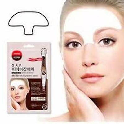 Anti Deep Wrinkle Aging Frown Forehead Lines elastine toner Reusable 30min Patch