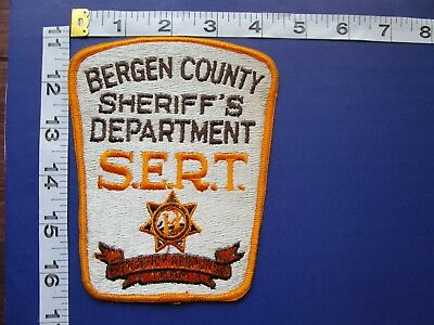 Bergen County New Jersey Sheriff's Dept Shoulder Patch