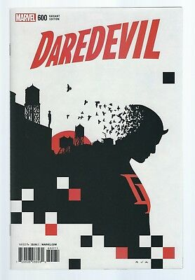 DAREDEVIL # 600 VARIANT 1:25 David Aja LIMITED EDITION Charlie Cox 2017 MARVEL