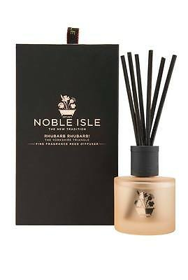 Noble Isle Rhubarb Rhubarb Reed Diffuser & A FREE 30ml Molton Brown - BRAND NEW