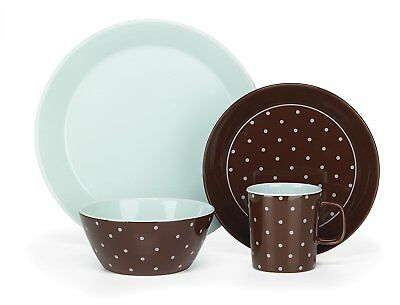 Cuisinart CDST1-S4BB Stoneware Camila Collection 16-Piece Dinnerware Sets  sc 1 st  PicClick & CUISINART STONEWARE JENNA Collection 16-Piece Dinnerware Set ...