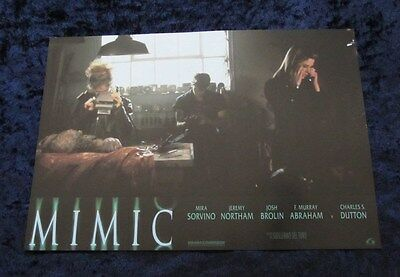 Mimic lobby card  # 2 - Jeremy Northam, Mira Sorvino, Josh Brolin