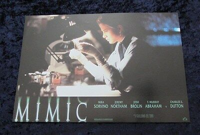 MIMIC lobby card  # 4 - JEREMY NORTHAM, MIRA SORVINO, JOSH BROLIN