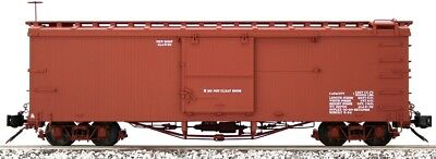 Accucraft / AMS AM31-101 D&RGW Box Car Data Only NARROW GAUGE 1:20.3 Scale