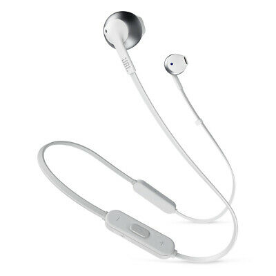 JBL T205BT Wireless In-Ear Headphones with Three-Button Remote and Microphone