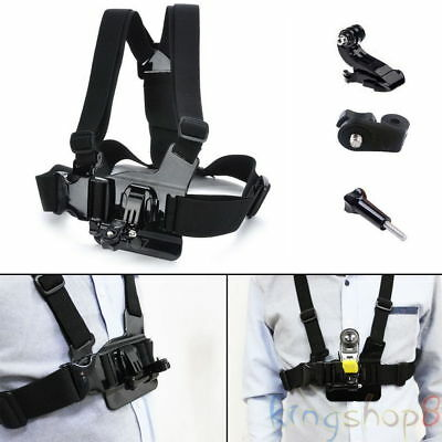 Camera Chest Harness Strap Body Holder Mount Belt Universal Action Fr Sony Gopro