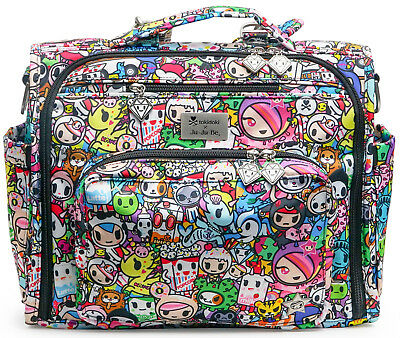 Ju Ju Be Tokidoki x BFF Baby Diaper Bag Backpack w/ Changing Pad Iconic 2.0