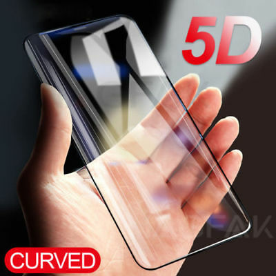 For Samsung Galaxy S8 S9+ 5D Curved Full Screen Tempered Glass Protector Film /b