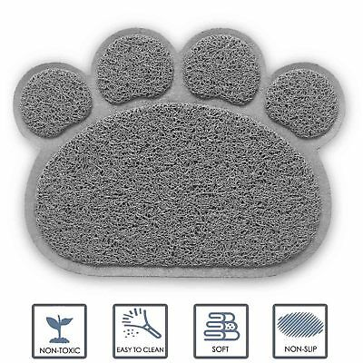 "Ultra-Absorbent & Waterproof Washable Food Feeding Mat for Dogs and Cats 12""x16"""