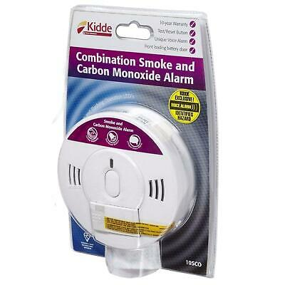 Kidde 10SCO Combination Smoke and Carbon Monoxide Alarm With Voice Notification