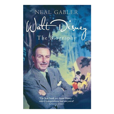 Walt Disney The Biography By Neal Gabler Paperback 9781845136741 NEW