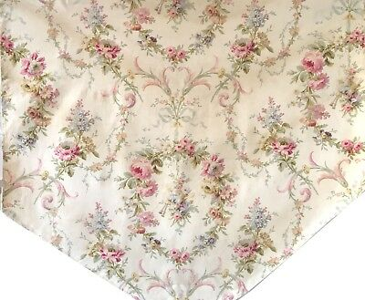 Beautiful 19th Century French Printed Floral Fabric (2233)