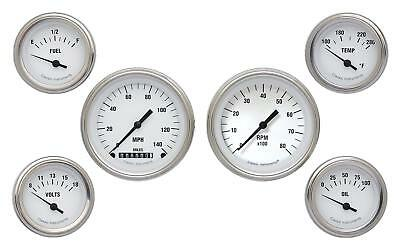 Classic Instruments White Hot Series Gauge Set WH01SLF