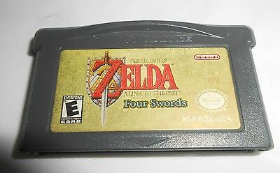 Legend of Zelda A Link to the Past Four Swords (GameBoy Advance) Game Cartridge