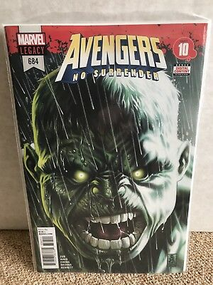 Avengers #684 - Cover A 1st Print - Return Banner / 1st App Immortal Hulk - NM