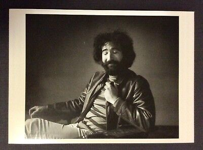 GRATEFUL DEAD HERB GREENE PHOTO 5x7 POSTCARD - JERRY GARCIA, 1969 -UNUSED VG