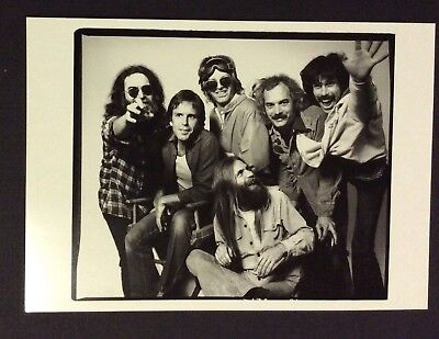 GRATEFUL DEAD HERB GREENE PHOTO 5x7 POSTCARD - WHOLE BAND, 1979 - UNUSED VG