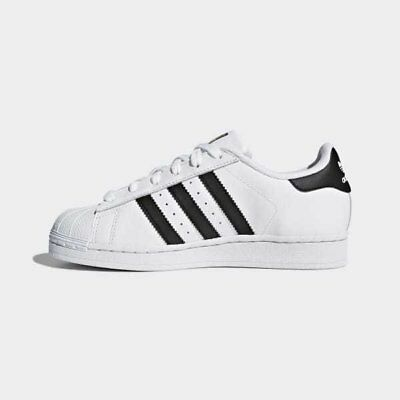 Youth (GS) Adidas Superstar Foundation J White/Black C77154