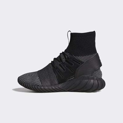 billig Men Adidas Tubular Doom PrimeKnit Core BlackGrey BY3131  Kostenloser Versand