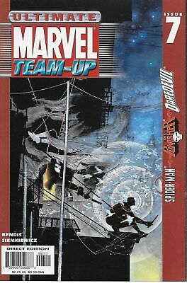 Ultimate Marvel Team-up No.7 2001 Spider-Man Punisher Daredevil Bill Sienkiewicz