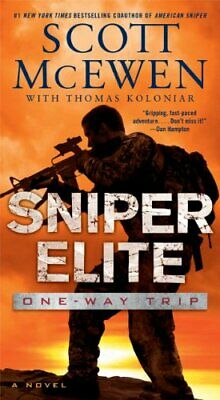 Sniper Elite: One-Way Trip by McEwen, Scott Book The Cheap Fast Free Post
