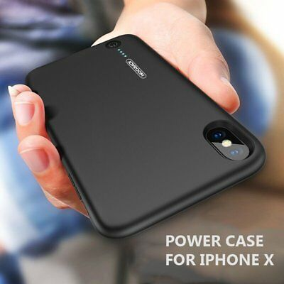 Brand New Power Case Battery Charger Case Cover w/ 3.5mm Jack for iPhone X