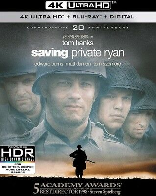 Saving Private Ryan [New 4K UHD Blu-ray] With Blu-Ray, 4K Mastering, Ac-3/Dolb