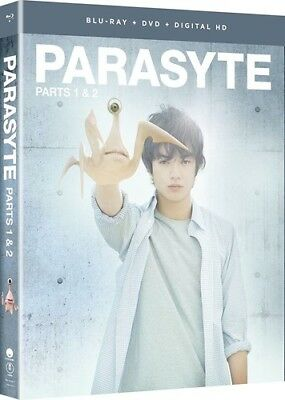 Parasyte: Parts One And Two - Live Action [New Blu-ray] With DVD, UV/HD Digita
