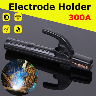 300A Electrode Holder Stick Welder Mini Copper Welding Rod Stinger Clamp Tool