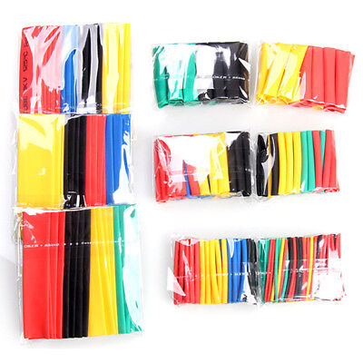 328Pcs Thermorétractable Gaine Thermo Rétractable Tuyau Tube Assortiment 2:1 NF