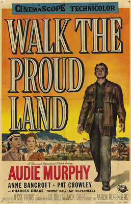 Walk the Proud Land ~ RARE Western Classic DVD Movie 1956 ~ Audie Murphy