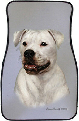 Car Floor Mats Pair - American Bulldog 36300