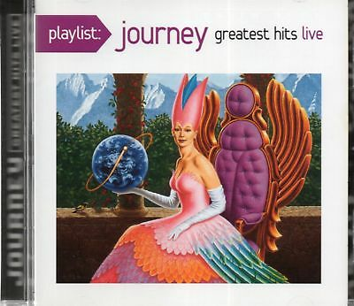 Journey - Greatest Hits Live (1981-1983) 2014 CD (New)