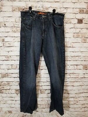 53637b3c LEE DUNGAREES RELAXED Bootcut Men's Sz 32x30 Jeans Dark Washed A9 ...